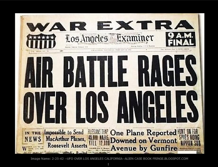 UFO_Battle_Of_LA_1942_Newspaper_Headline