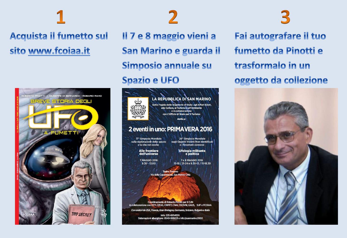 Convegno su Spazio e UFO